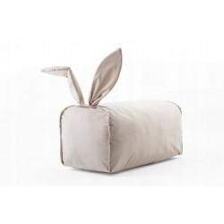 Pufa króliczek kolor kremowy