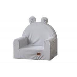 Fotelik dla dziecka MIŚ szary