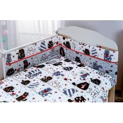 Pościel do łóżeczka 120x90...